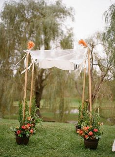 15 Cool Wedding Chuppah Ideas #ideas #chuppah #wedding