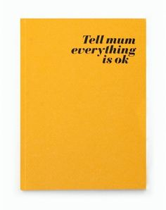 Sara Lindholm - nevver: Tell Mum #mum #poster #tell