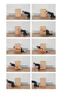 #box #crawling #experiment #play #photo #paper