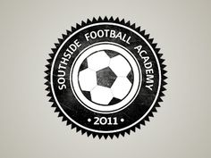 Dribbble - Southside Football Academy Crest by Bobby Anderson