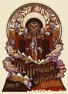 GigPosters.com - My Morning Jacket - Amos Lee #burwell #jacket #my #poster #morning #guy