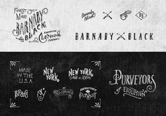 Jon Contino l Alphastructaesthetitologist #typography #design #vintage #york #type #sketch #new