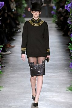 Givenchy F/W 11 « Ford Models Blog #fashion #givenchy