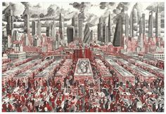 "Artist Mark Lascelles Thornton - ""The Happiness Machine"""