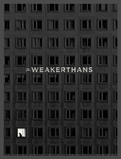 Aesthetic Apparatus: THE WEAKERTHANS #cat #black #aesthetic #poster #apparatus #windows