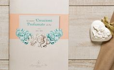 "Catalogue ""Le creazioni profumate di Flò"" by www.o-zone.it #italia #hp #decor #catalogue #vintage #flower #parfum"