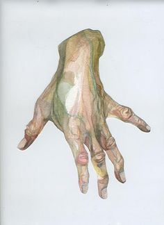 grandmother portrait Watercolour #hands