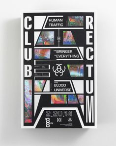 Poster #typography #colorful #rave #poster
