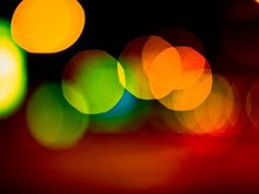 |)E$1GN - ²°'' #city #lights #retro #experimental #blob #bokeh #photography #vintage