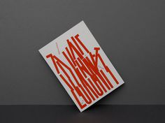 Kasper-Florio #lines #red #print #design #book #chaos