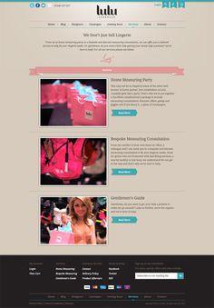 Lulu Lonsdale Branding and web design