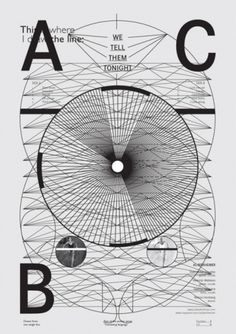 #graphic design #poster #lines