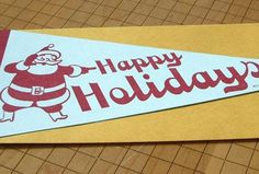 holiday card #christmas #holiday #typography