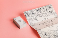 Floral wedding invitation and cards Free Psd. See more inspiration related to Wedding, Mockup, Wedding invitation, Floral, Invitation, Love, Template, Paper, Cute, Presentation, Elegant, Mock up, Save the date, Decoration, Cards, Decorative, Date, Marriage, Romantic, Trifold, Engagement, Beautiful, Up, Save, Showcase, Fold, Showroom and Mock on Freepik.