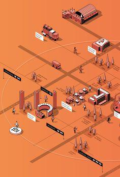 London SPECTRUM Map on Behance