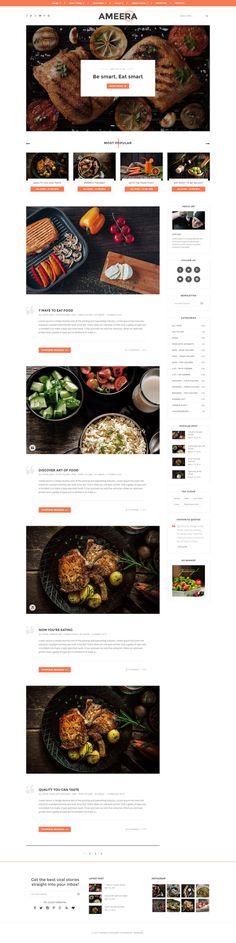 Paperio - Responsive and Multipurpose WordPress Blog Theme - Ameera, buy - https://goo.gl/kJeBM0