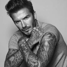 David Beckham is the new face of Biotherm Homme #DavidBeckham #BiothermHomme
