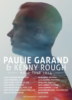 Paulie Garand & Kenny Rough - Molo Tour 2014 #minimal #poster #simple #sea #anchor #pride #perfect #paulie #liberec #garand