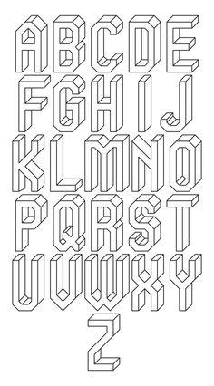 Typeface idea.