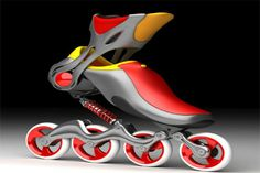 With Mercury Skates, the vibrations disappear leaving the in-line skater with a smoother, safer, and faster ride. #design #product #modern