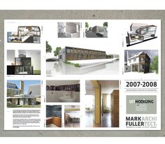 Mailing 2 #fold #architect #invitation #poster #mailing
