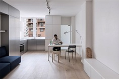 Compact Space Combine an Aesthetic Simplicity with a Flexible Intelligent Functionality - InteriorZine