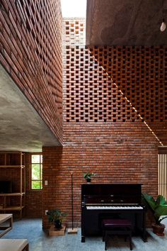 Termitary House #brick #skylight