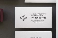 Flip | Lovely Stationery #card #business #stationery