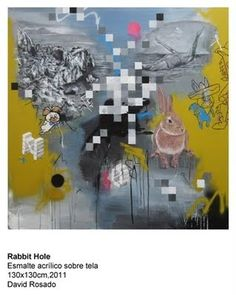 rabbit hole by David Rosado #art