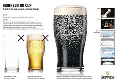 Guinness: QR Code Cup | Ads of the World™ #beer #qr #code
