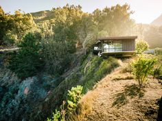 CJWHO ™ (Fall House in Big Sur, California by Fougeron...)