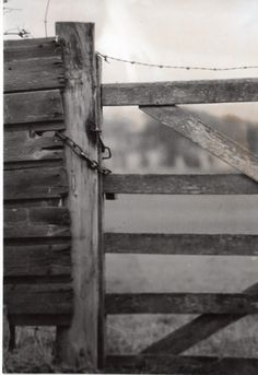 Make Mistakes. #film #analogue #white #wooden #photo #composition #black #photograph #gate #and