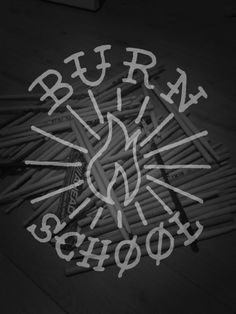 Burn School logo /// pa-t.fr