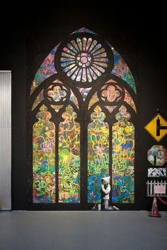 Banksy - Moca Art | Fubiz™ #banksy