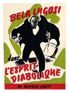 AP093 Bela Lugosi, Ed Wood, Horror Movie Poster (30x40cm Art Print) #movie #horror #poster