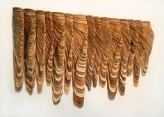 Furrow #wood #sculpture