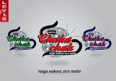 Levis Chaka Chak on the Behance Network #clothing #branding #pakistan #design #levis #illustration #logo
