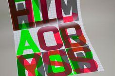Overprint Poster