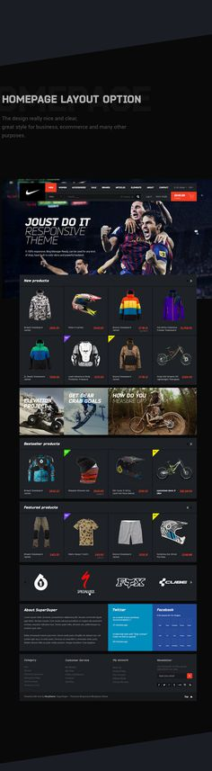 NIKE Concept & Free PSD Pack on Behance