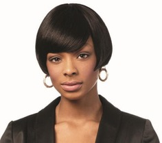 Best Cheap Sleek 100% Human Hair Wig Cecilia at Cosmetize UK. Sleek 100% Human Hair Wig Cecilia made of 100% human hair is designed to look genuine, with a smooth touch and trendy side swiping fringe and beautifully cut bob style giving you the forever Beauty look.