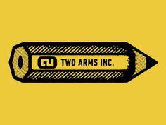Pencil Logo #logo #branding #identity