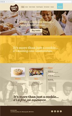 1CookieCart_Home.png #web site #digital