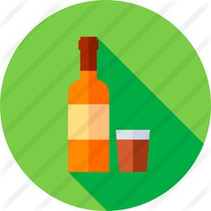 See more icon inspiration related to food and restaurant, vodka, label, alcohol, bar, bottle and food on Flaticon.