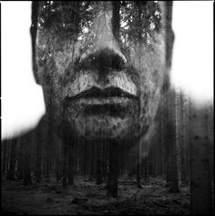 Colossal | An art and design blog. #photography #double exposure