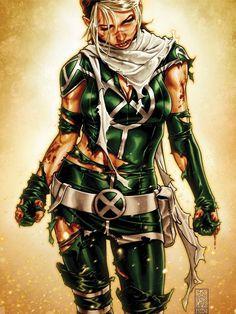 Rogue from X Men comics