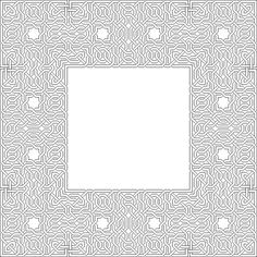 Interlaced Patterns – Alhambra #geometry #islamic #patterns