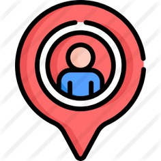 See more icon inspiration related to maps and location, location pin, map pointer, placeholder, locate, pointer, user, pin, map and location on Flaticon.