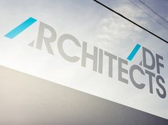 Graphical House - ADF Architects #signage #logo