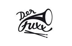 Der Fuxx #handlettering #fischer #drum #maria #horn #music #logo