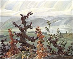 Franklin Carmichael Scrub Oaks and Maple
